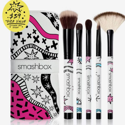 Smashbox Drawn In. Decked Out  Multi-Use Brush Set