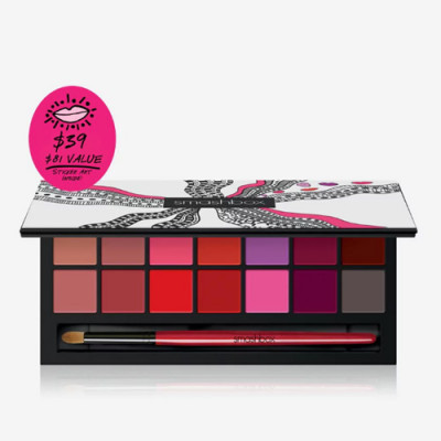 Smashbox Drawn In. Decked Out. Lipstick Palette