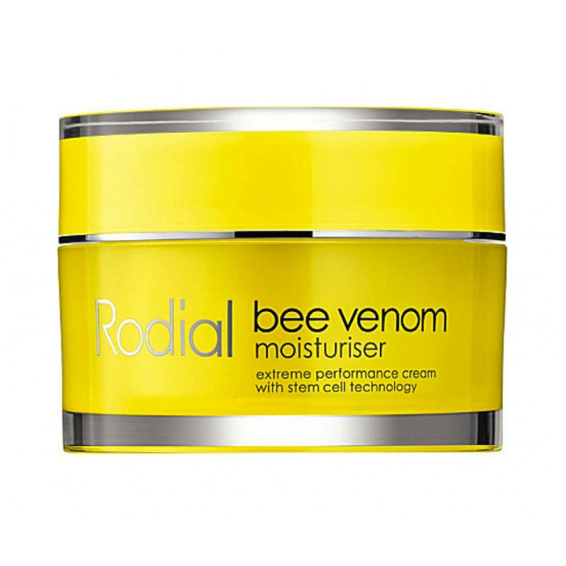 The revolutionary bee venom moisturizer is an advanced formula that revitalizes and renews for naturally younger looking skin. · 72% felt their complexion looked firmer · complex plant extracts improve skin tone and elasticity · Bee Venom helps to smooth and plump out fine lines and wrinkles and helps increase blood circulation.